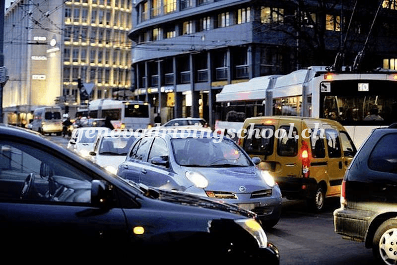 Geneva extends crackdown on drivers blocking intersections